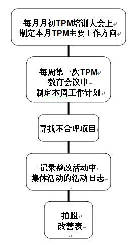 TPM活动主要流程