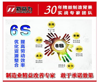 6S管理的宣传感染很重要
